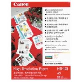 Canon A3 Fotopapir, 110g 100 ark / HR-101 / 1033A005