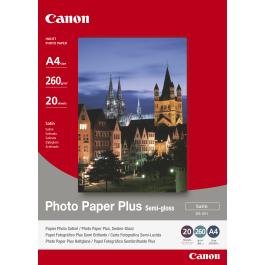 Canon A4 Fotopapir 20 ark / SG-201 / 1686B021