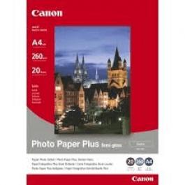 Canon Fotopapir 10x15 cm, 260g/m2 5 ark / SG-201 / 1686B072