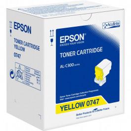 Epson 0747 / C13S050747 gul toner - Original