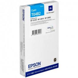 Epson T04B2 / C13T04B240 cyan XL bläckpatron - Original