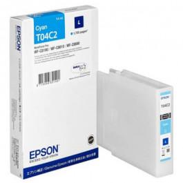 Epson T04C2 / C13T04C240 cyan bläckpatron - Original