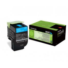 Lexmark 802C / 80C20C0 cyan toner - Original
