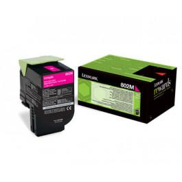 Lexmark 802M / 80C20M0 magenta toner - Original
