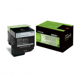 Lexmark 802XK / 80C2XK0 svart XXXL toner - Original