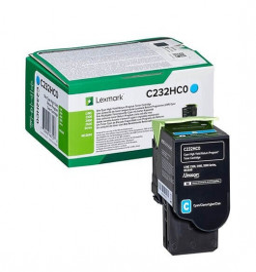 Lexmark C232HC0 cyan XL toner - Original