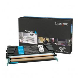 Lexmark C5242CH cyan XL toner - Original