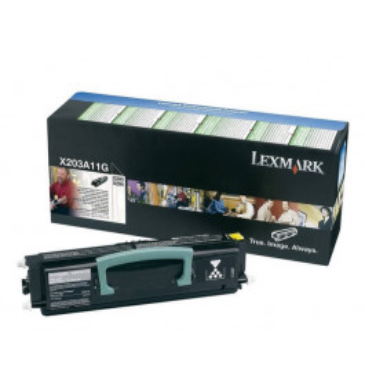 Lexmark X203A11G / X203A21G svart toner - Original