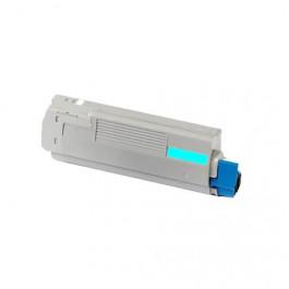 Oki 44318607 cyan toner - Kompatibel
