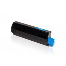 Oki C3100 / 42804515 cyan toner - Kompatibel