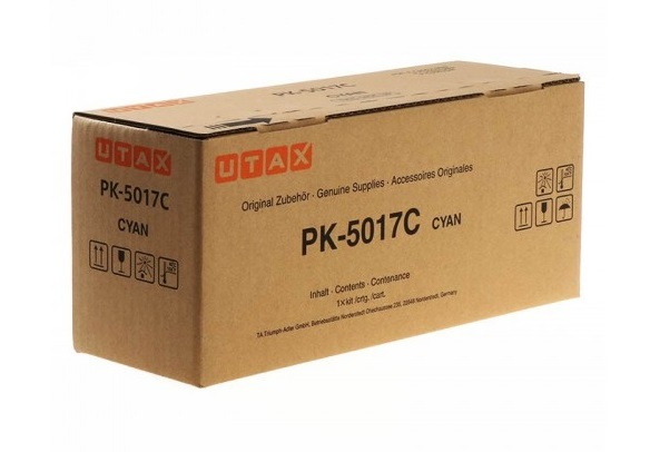 UTAX PK-5017C / 1T02TVCUT0 cyan toner - Original